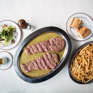 Trimmed Entrecôte Steak Frites