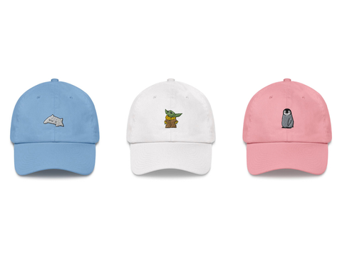 Shop our dad hat collection
