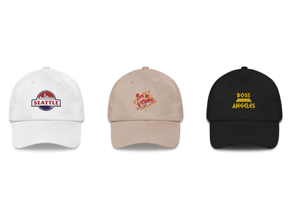 Pacific Coast USA Dad Hats