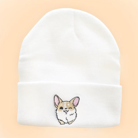 Tori The Corgi Beanie | CityCaps.Co
