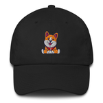 Catalyst Vibes Winky Corgi Dad Hat | CityCaps.Co