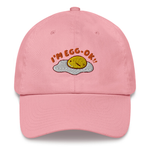 mis0happy I'm Egg-OK Dad Hat | CityCaps.Co
