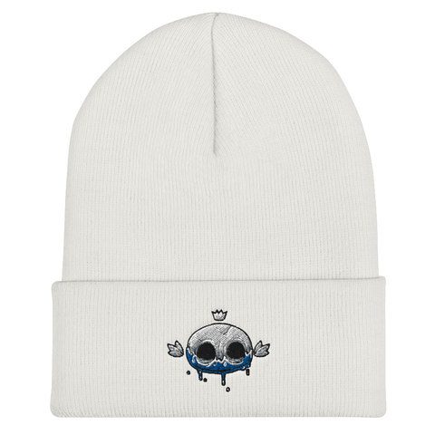 Angga Tantama Crowned Skull Beanie | CityCaps.Co