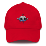 Angga Tantama Crowned Skull Dad Hat | CityCaps.Co