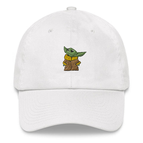 Baby Yoda Dad Hat | CityCaps.Co