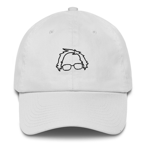 Bernie Sanders 2020 Minimalist Dad Hat | CityCaps.Co