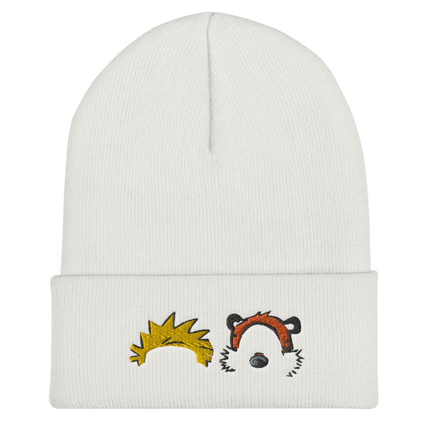 Calvin and Hobbes Beanie | CityCaps.Co