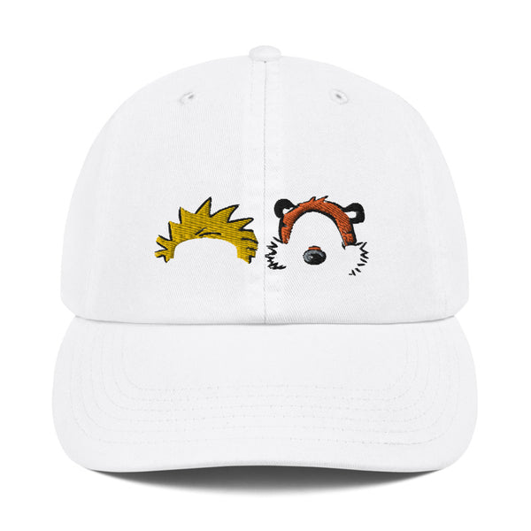 Calvin and Hobbes Dad Hat | CityCaps.Co