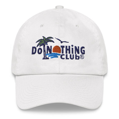 Do Nothing Club Dad Hat | CityCaps.Co