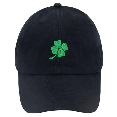 St. Patrick's Day Four Leaf Clover Dad Hat | CityCaps.Co