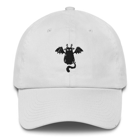 Cat Bat Guild Of Calamity Dad Hat | CityCaps.Co