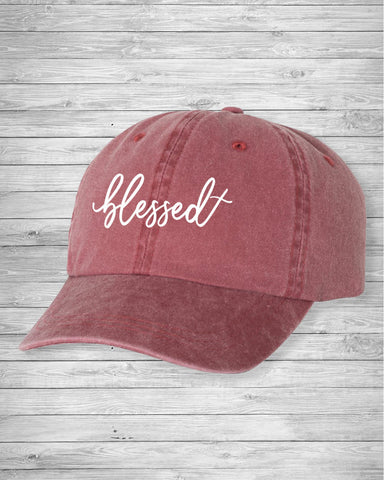 Blessed Dad Hat | CityCaps.Co