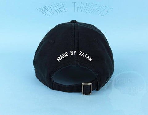 Made By Satan Dad Hat