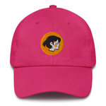 Meowvian Orange Girl Dad Hat | CityCaps.Co