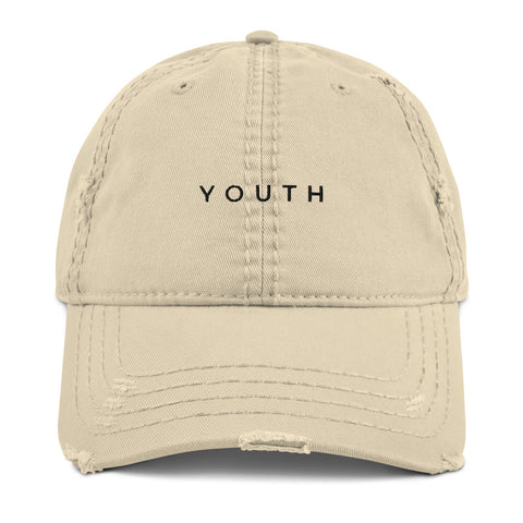 YOUTH Distressed Dad Hat | CityCaps.Co