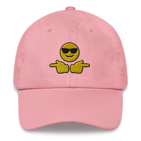 Confident Boi Emoji Dad Hat | CityCaps.Co