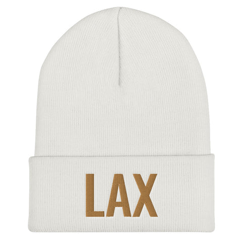 LAX - Airport Codes Beanie | CityCaps.Co