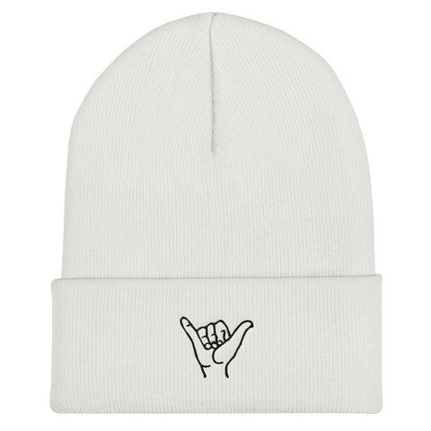 Shaka Hang Loose Minimalist Beanie | CityCaps.Co