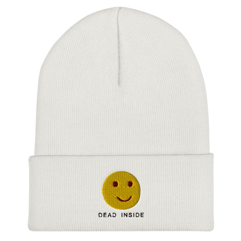DEAD INSIDE Beanie | CityCaps.Co