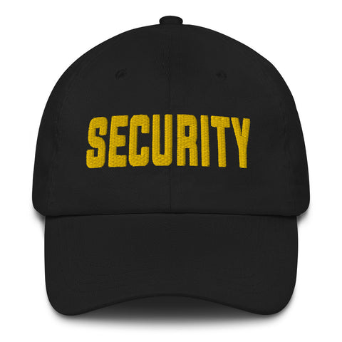 SECURITY Dad Hat | CityCaps.Co