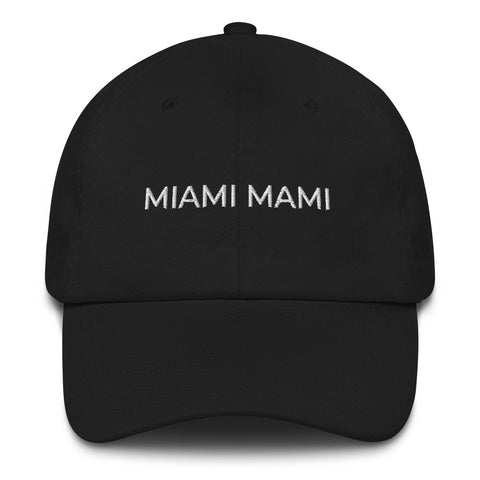 MIAMI MAMI Dad Hat | CityCaps.Co