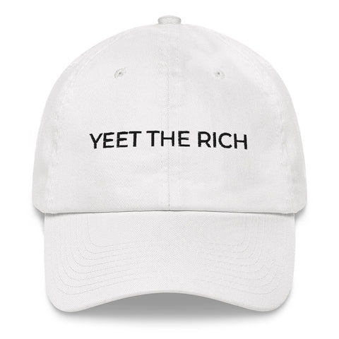 YEET THE RICH Dad Hat | CityCaps.Co
