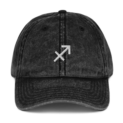 Astrology Sagittarius Sign Vintage Dad Hat | CityCaps.Co