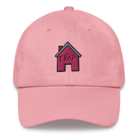 The Pink TrapHouse Dad Hat | CityCaps.Co