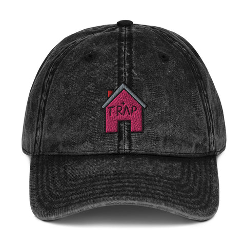 The Pink TrapHouse Vintage Dad Hat | CityCaps.Co