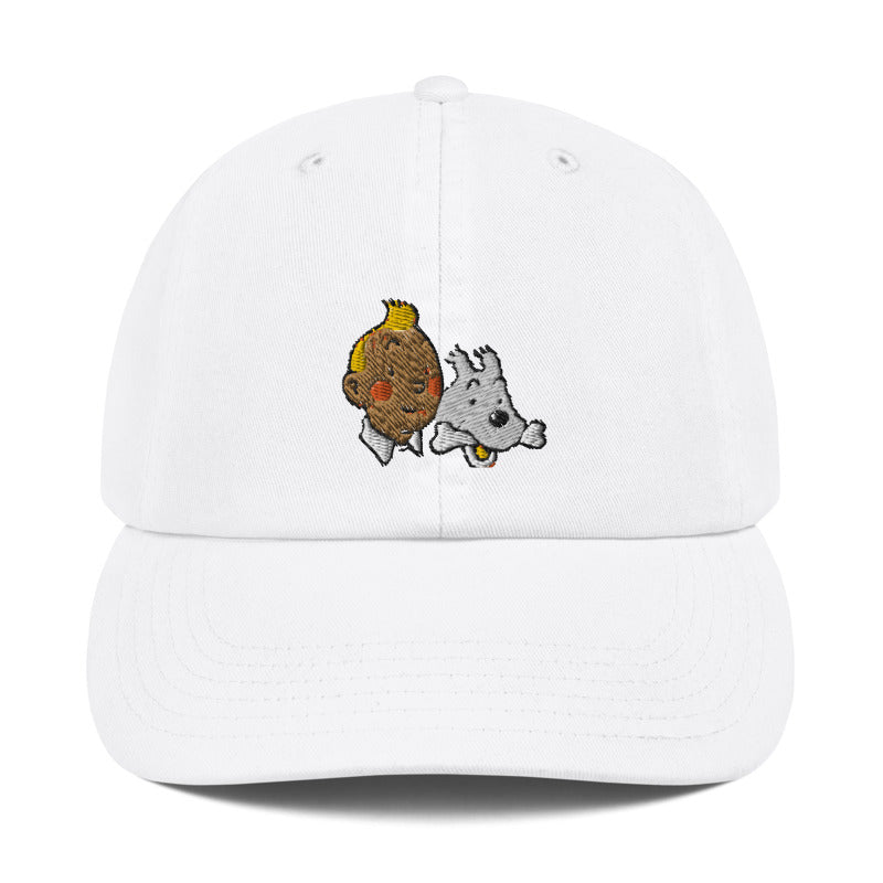 The Adventures of Tin Tin Dad Hat | CityCaps.Co