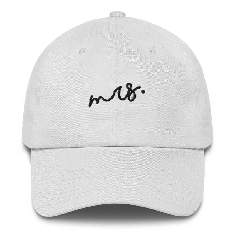 Mr and Mrs Wedding Dad Hat | CityCaps.Co