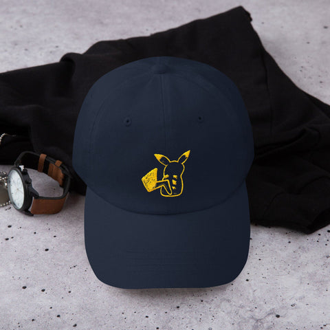 Pokemon Pika Pika Dad Hat