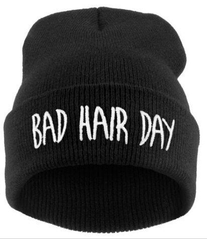 Bad Hair Day Beanie | CityCaps.Co