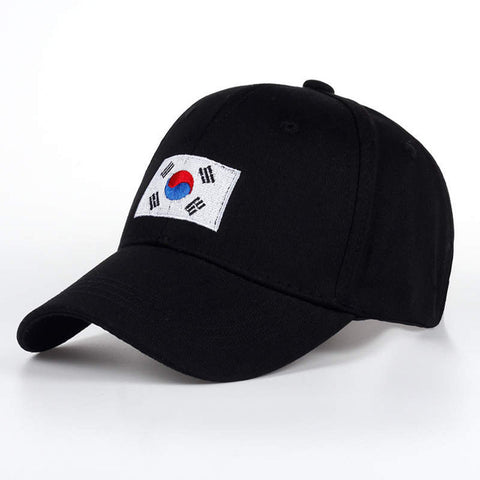 South Korean Flag Dad Hat | CityCaps.Co