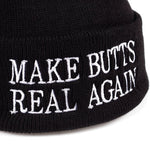 Make Butts Real Again Beanie | CityCaps.Co