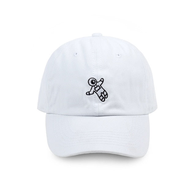 Floating Astronaut Dad Hat | CityCaps.Co