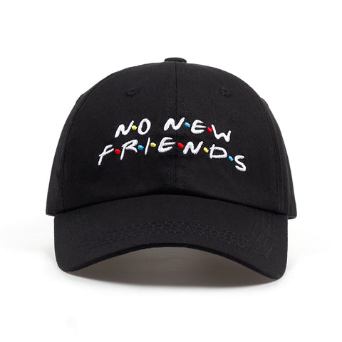 No New Friends Dad Hat | CityCaps.Co
