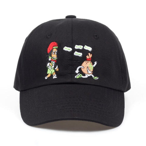 Girl Chasing Money Dad Hat | CityCaps.Co