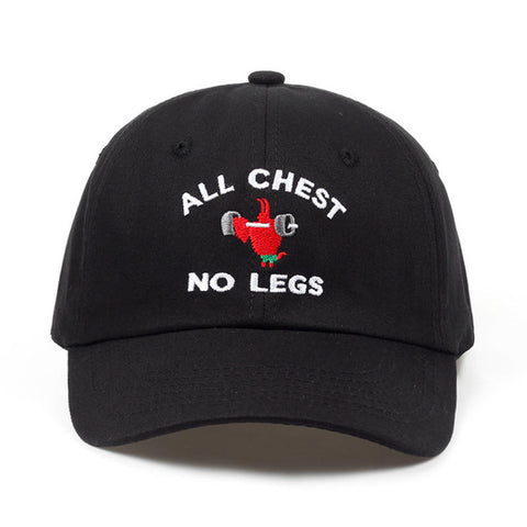 All Chest No Legs Dad Hat | CityCaps.Co