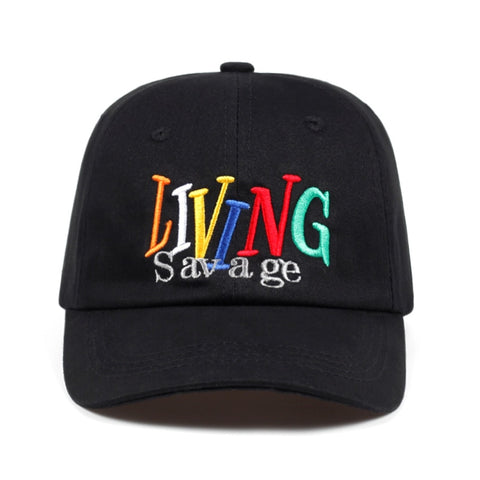 Living Savage Dad Hat | CityCaps.Co