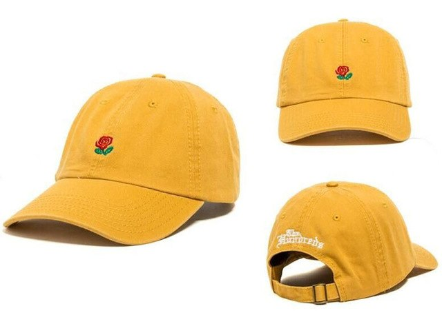 Rose Dad Hat | CityCaps.Co