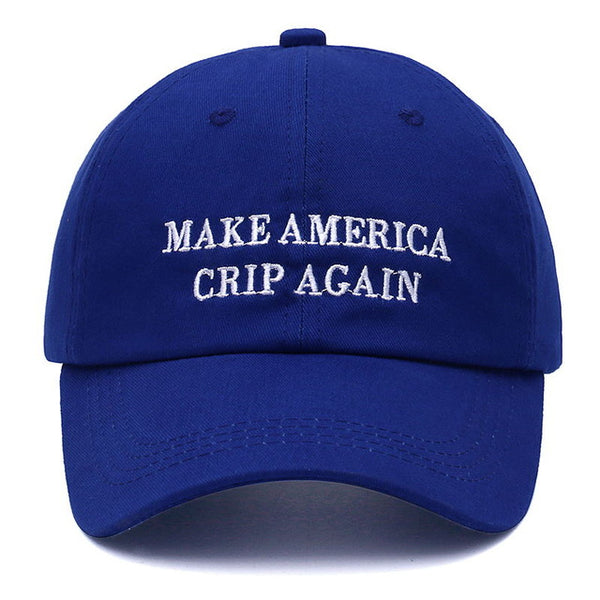 Make America Crip Again Dad Hat | CityCaps.Co