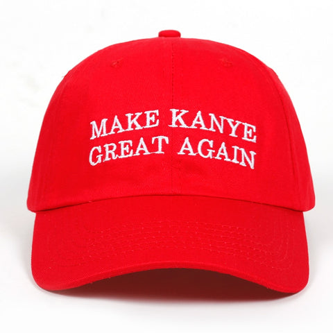 Make Kanye Great Again Dad Hat | CityCaps.Co