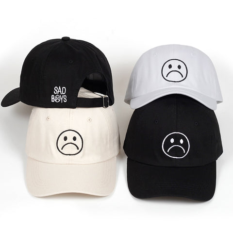 Sad Boys Dad Hat | CityCaps.Co