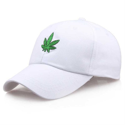 Marijuana Leaf Dad Hat | CityCaps.Co