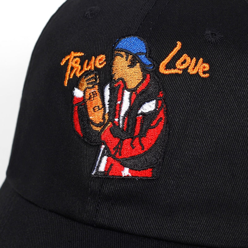 True Love Orange Soda Dad Hat | CityCaps.Co