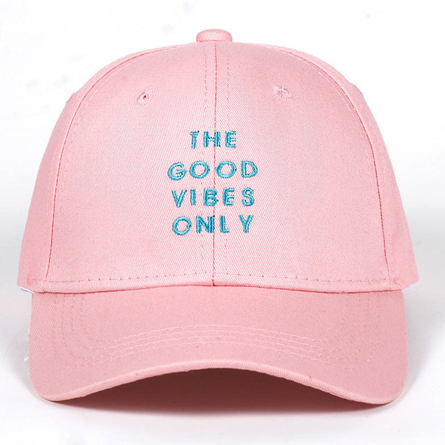 The Good Vibes Only Dad Hat | CityCaps.Co