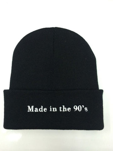 Made In The 90's Beanie | CityCaps.Co