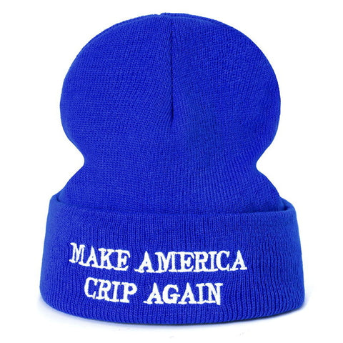 Make America Crip Again Beanie | CityCaps.Co