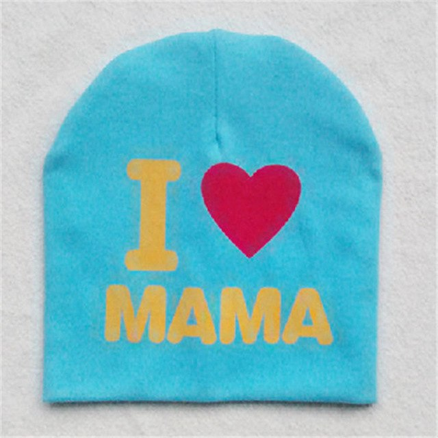 I Love Mama Beanie | CityCaps.Co